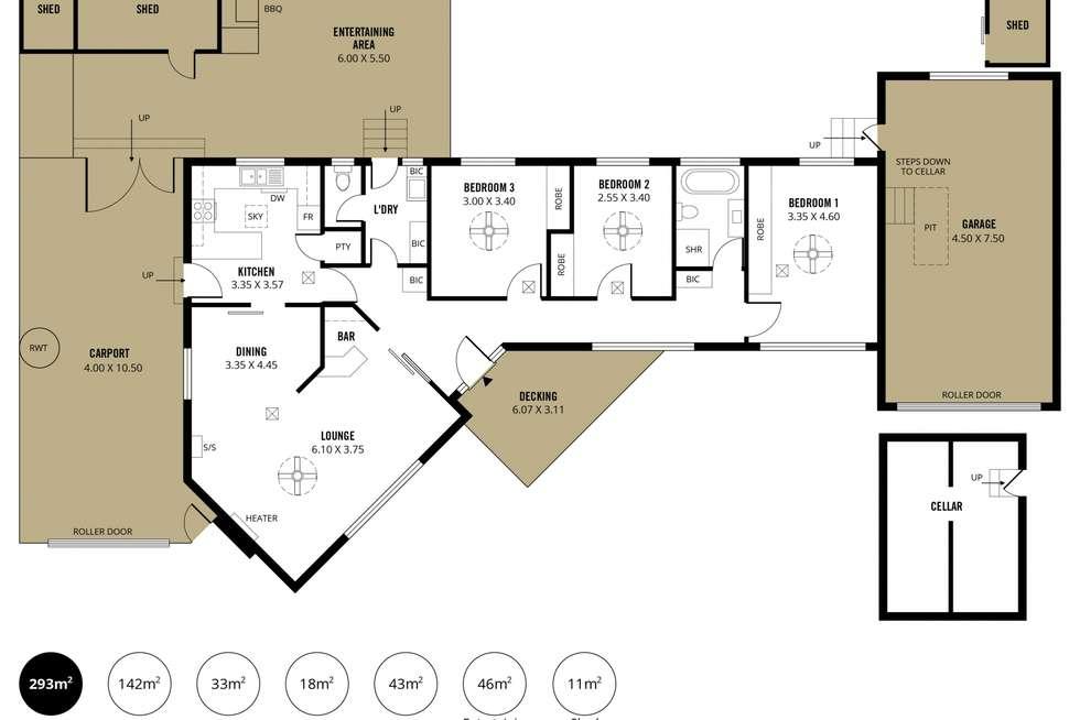 Floorplan of Homely house listing, 666 Morphett Road, Seaview Downs SA 5049