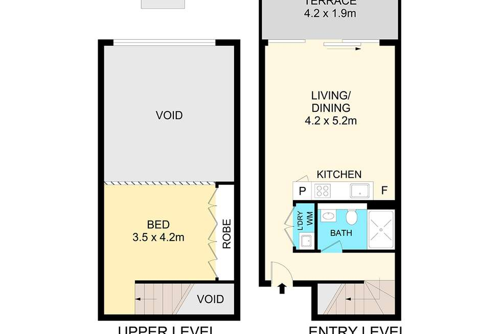 Floorplan of Homely apartment listing, GA04/34-38 McEvoy St, Waterloo NSW 2017