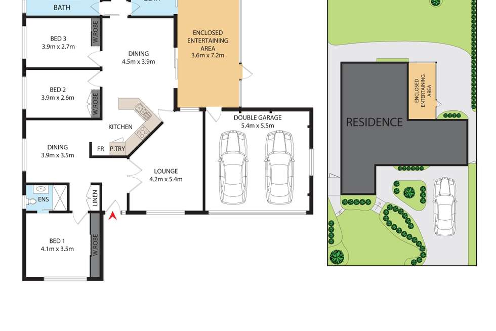 Floorplan of Homely house listing, 23 Shores Close, Salamander Bay NSW 2317