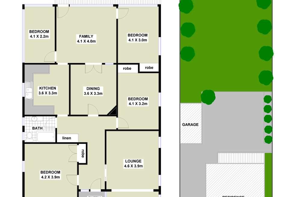 Floorplan of Homely house listing, 242 Mowbray Road, Artarmon NSW 2064