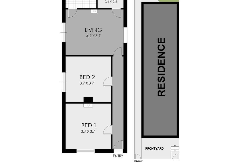Floorplan of Homely house listing, 6 Norman Street, Rozelle NSW 2039