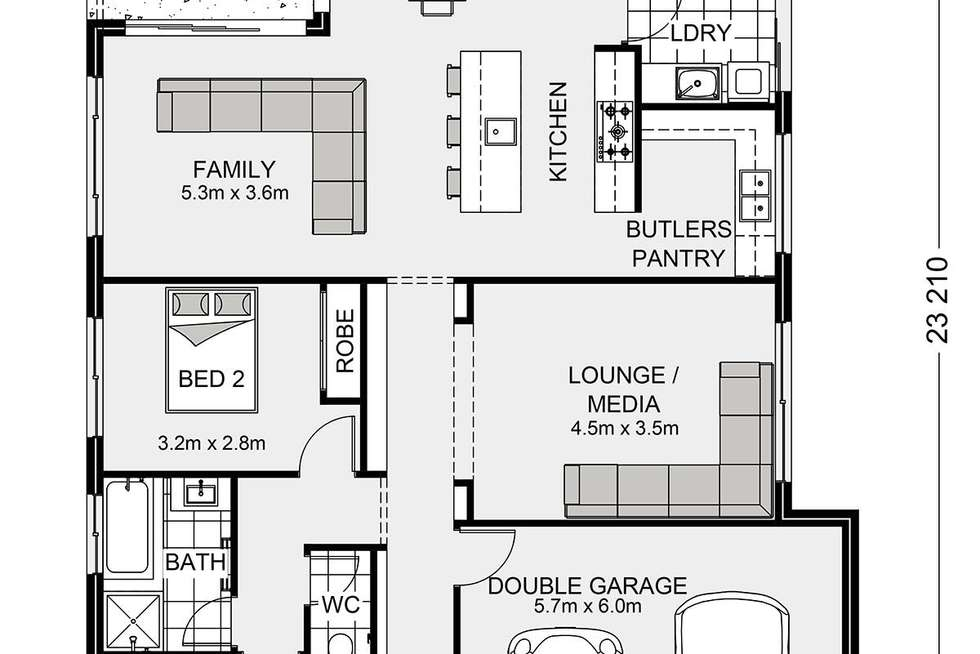 Floorplan of Homely residentialLand listing, 6 Monarch Court, Peregian Springs QLD 4573