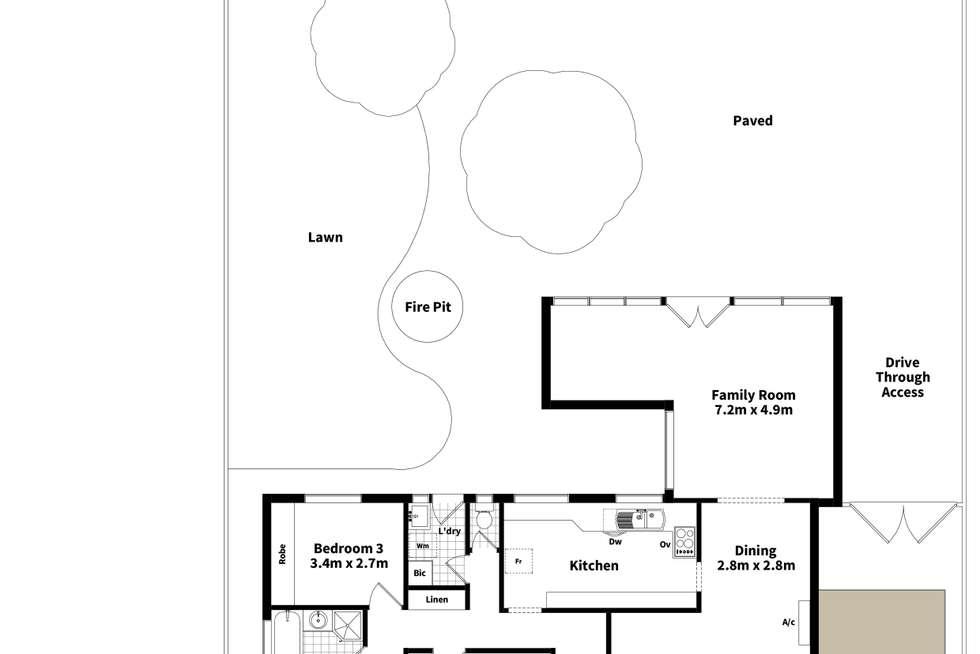 Floorplan of Homely house listing, 15 Hinkley Road, Morphett Vale SA 5162