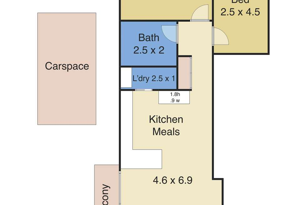 Floorplan of Homely unit listing, 10/15 Ocean Parade, The Entrance NSW 2261