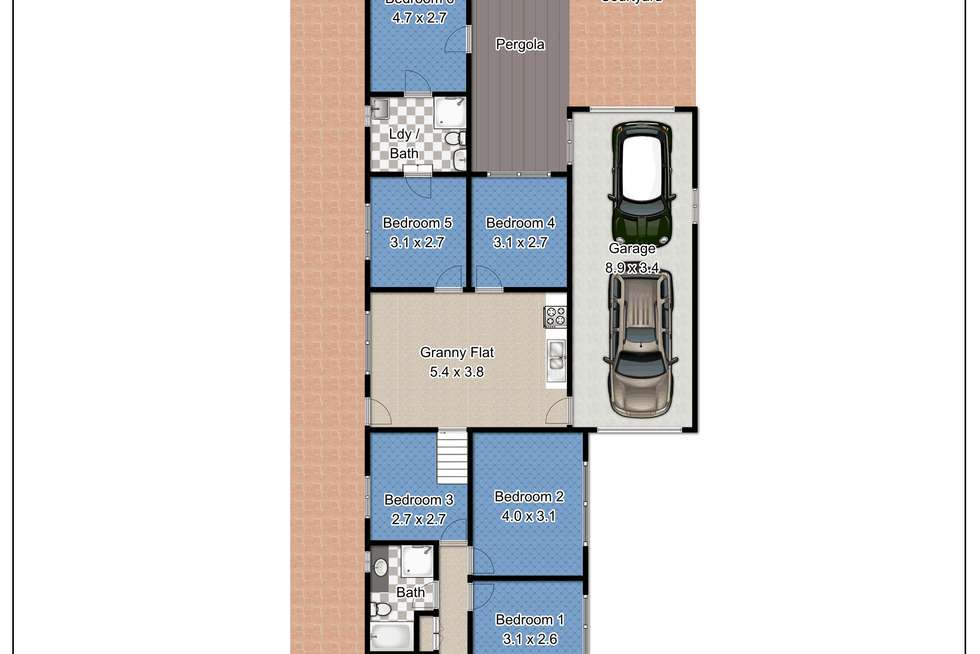 Floorplan of Homely house listing, 100 Elizabeth Street, Riverstone NSW 2765