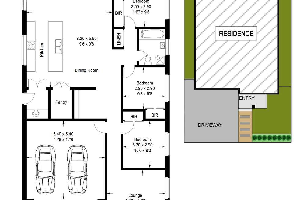 Floorplan of Homely house listing, 38 Barrington Street, The Ponds NSW 2769