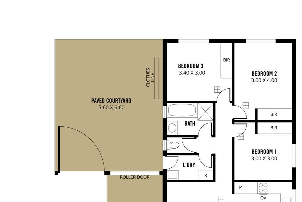 Floorplan of Homely house listing, 210 Brodie Road, Morphett Vale SA 5162