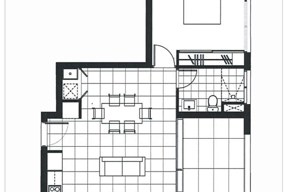 Floorplan of Homely apartment listing, 7202/1A Morton Street, Parramatta NSW 2150