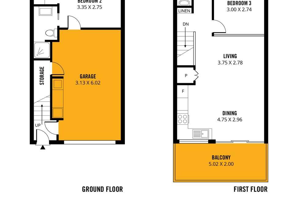 Floorplan of Homely townhouse listing, 1-9 / 250 Anzac Highway, Plympton SA 5038
