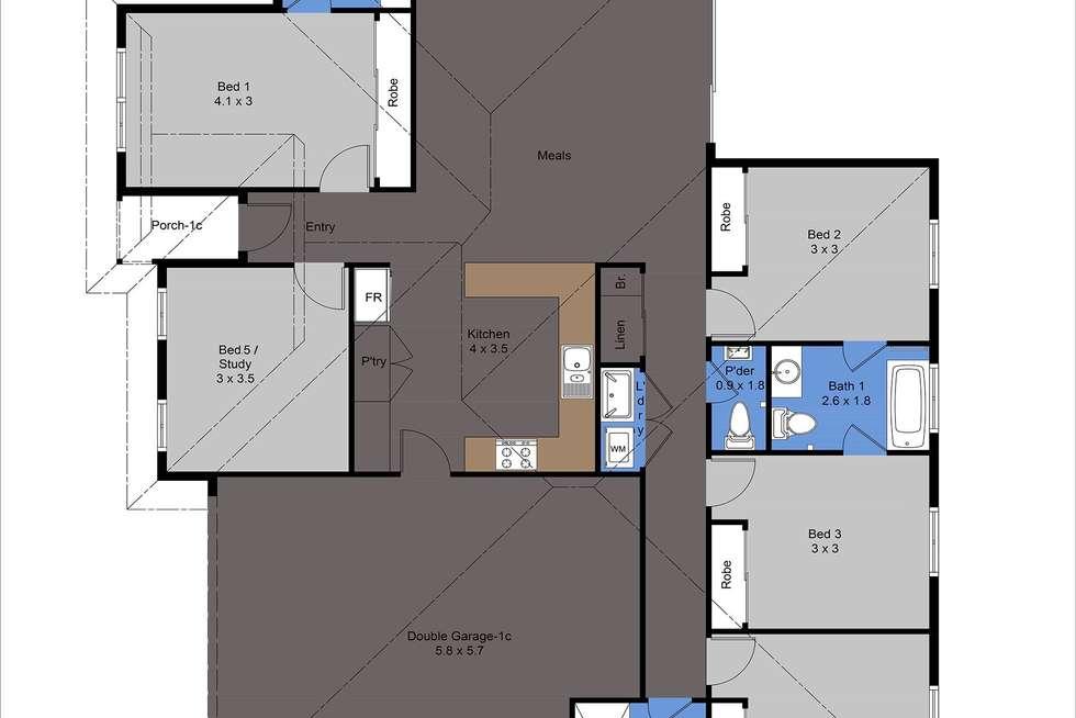 Floorplan of Homely house listing, B/17 Leichardt Street, St James WA 6102
