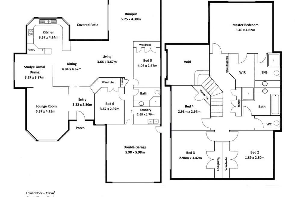 Floorplan of Homely house listing, 2 Cascade Close, Riverhills QLD 4074