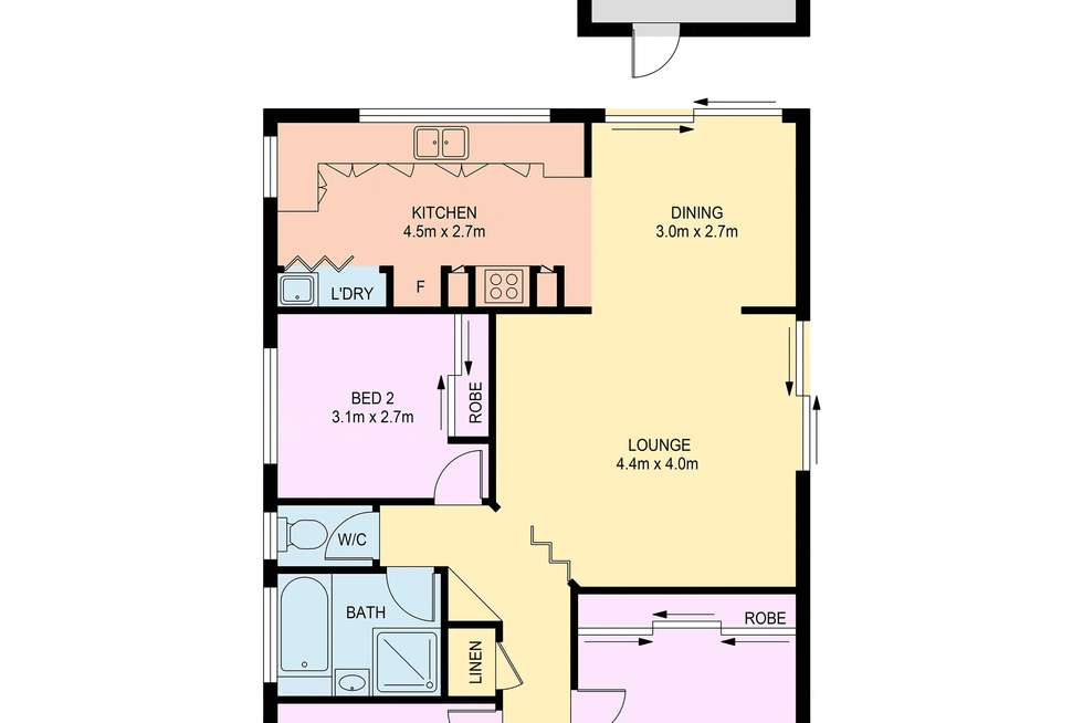 Floorplan of Homely house listing, 38 Wyperfeld Place, Bow Bowing NSW 2566