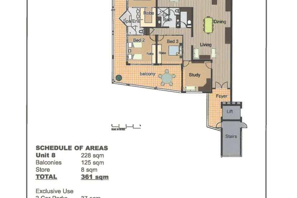Floorplan of Homely apartment listing, 8/88 Mitchell Street, North Ward QLD 4810