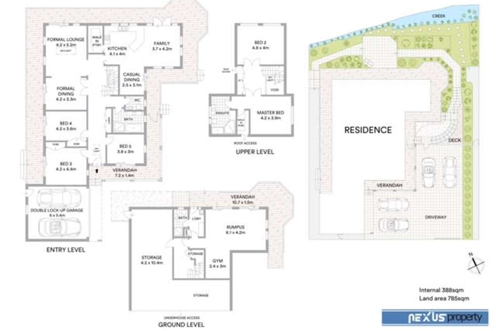 Floorplan of Homely house listing, 25A George Street, Pennant Hills NSW 2120