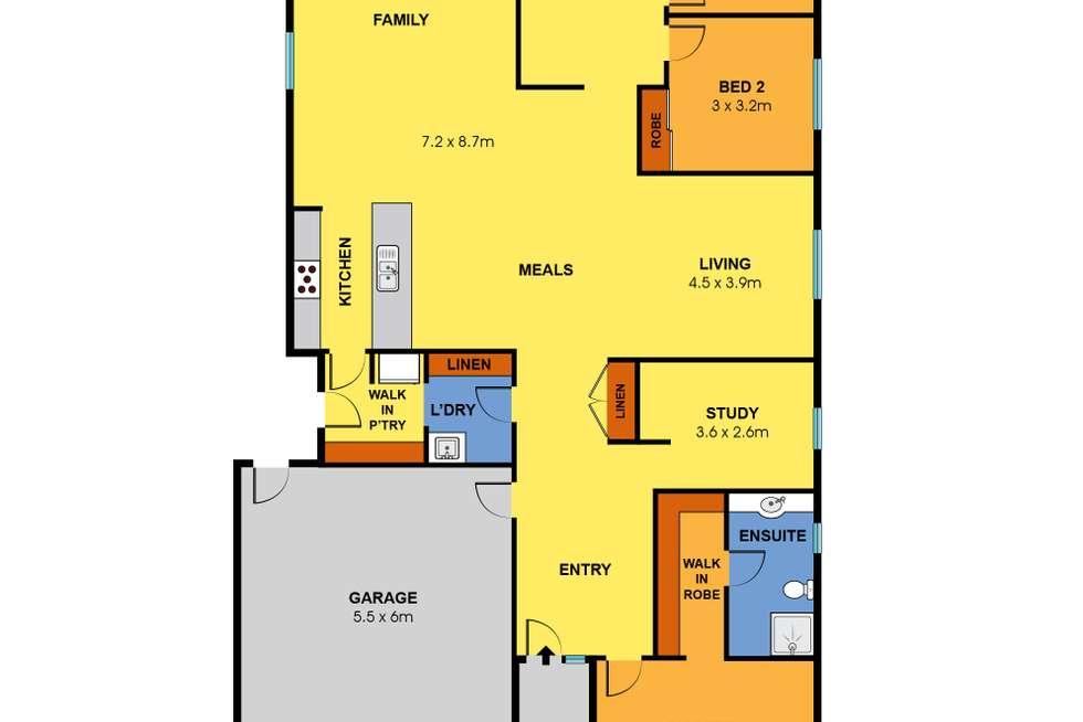Floorplan of Homely house listing, 92 Bandicoot Loop, Tarneit VIC 3029