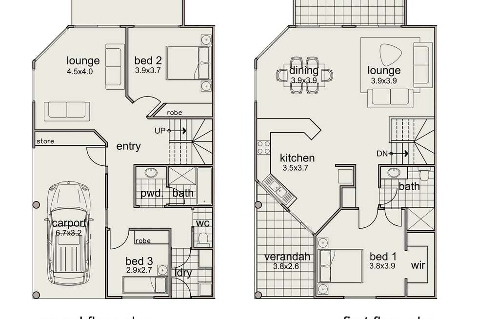 Floorplan of Homely villa listing, 1/Lot 20, 110 Beach Road,, Coobowie SA 5583