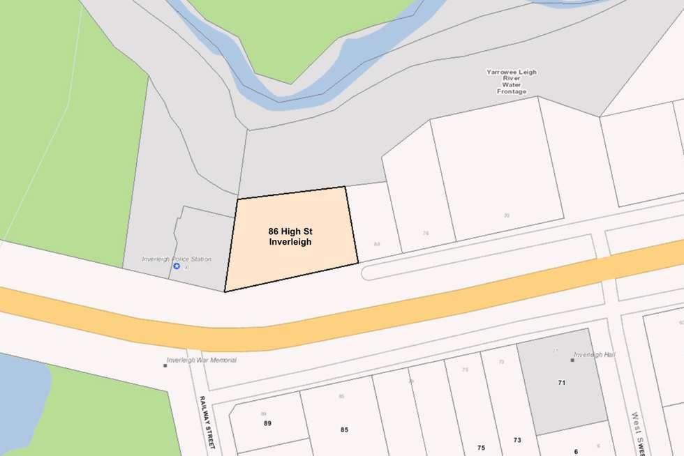 Floorplan of Homely residentialLand listing, 86 High Street, Inverleigh VIC 3321