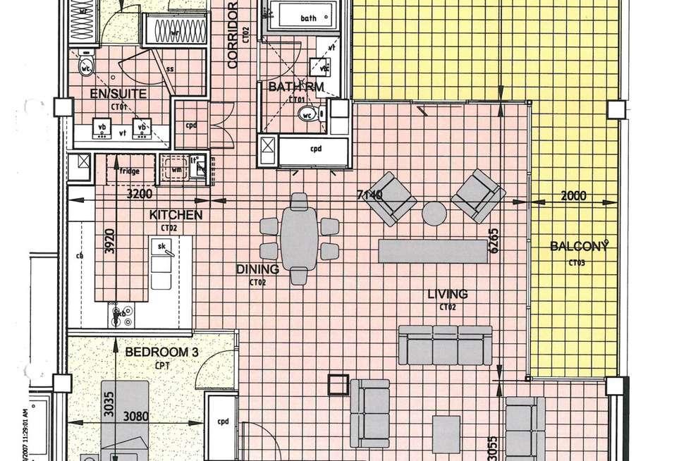Floorplan of Homely apartment listing, 55/45-53 Gregory Street, North Ward, North Ward QLD 4810