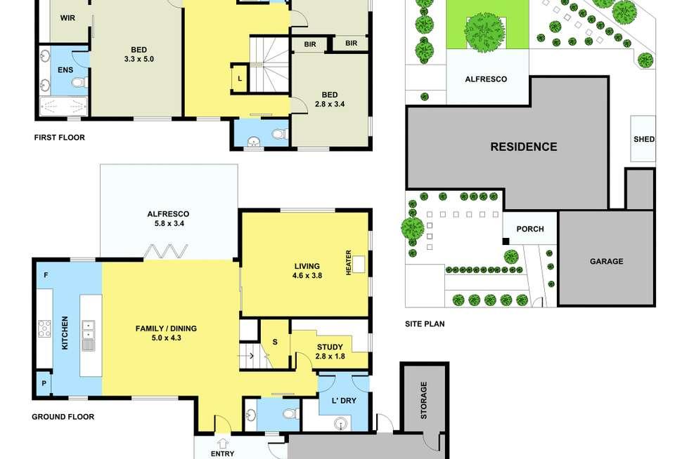 Floorplan of Homely house listing, Unit 6/15 Karingal Drive, Montmorency VIC 3094