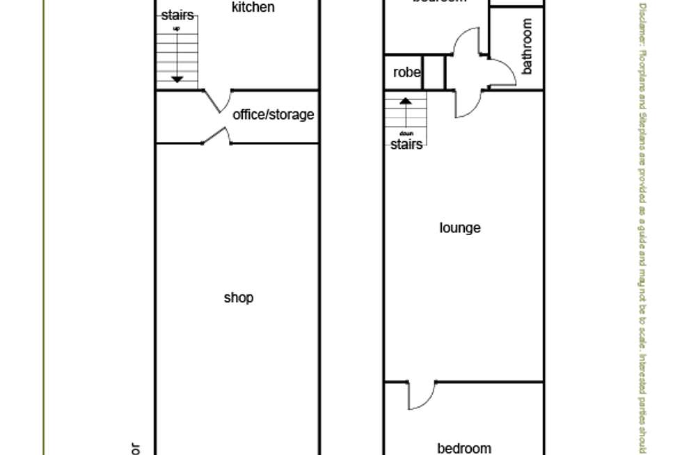 Floorplan of Homely house listing, 85 Lloyd Street, Dimboola VIC 3414