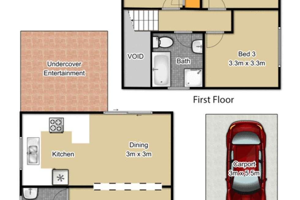 Floorplan of Homely house listing, 7/38 Marcia Street, Toongabbie NSW 2146