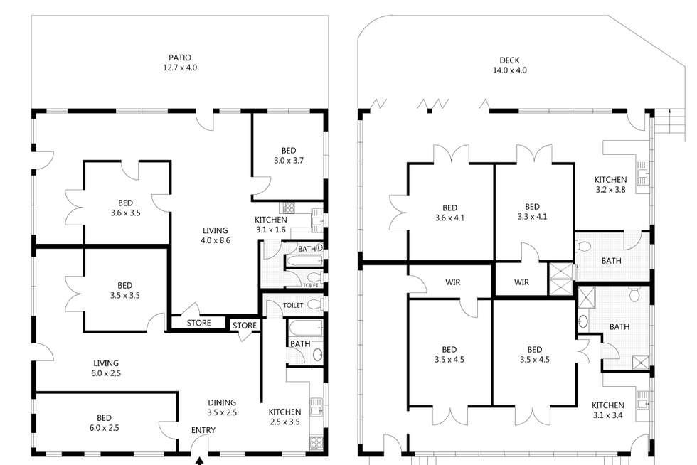 Floorplan of Homely blockOfUnits listing, 1 Fryer Street, North Ward QLD 4810