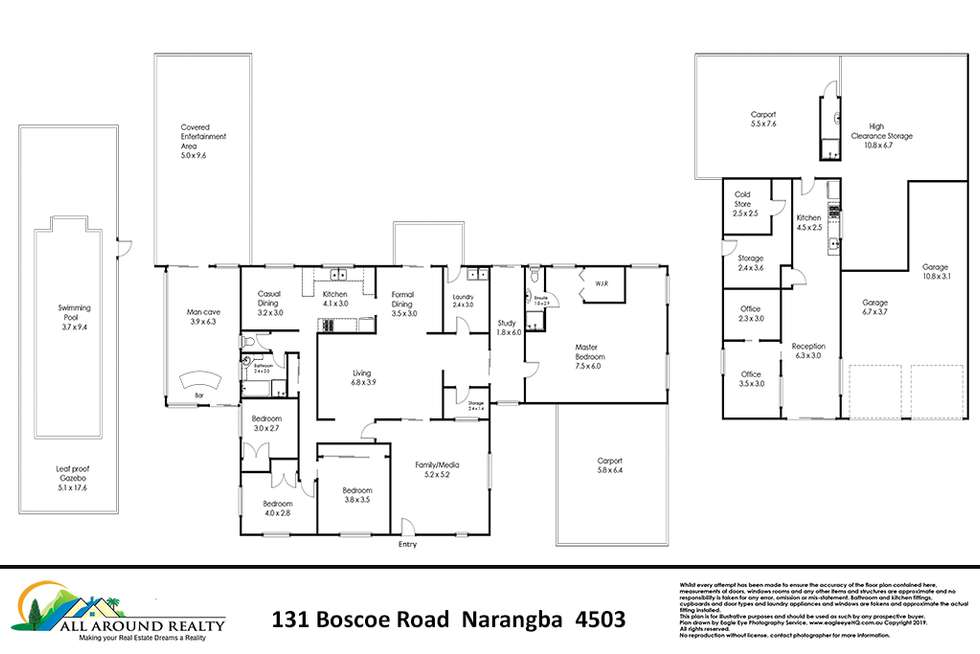 Floorplan of Homely house listing, 131 Boscoe Road, Narangba QLD 4504
