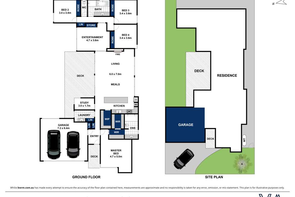 Floorplan of Homely house listing, 30 Cowry Way, Point Lonsdale VIC 3225