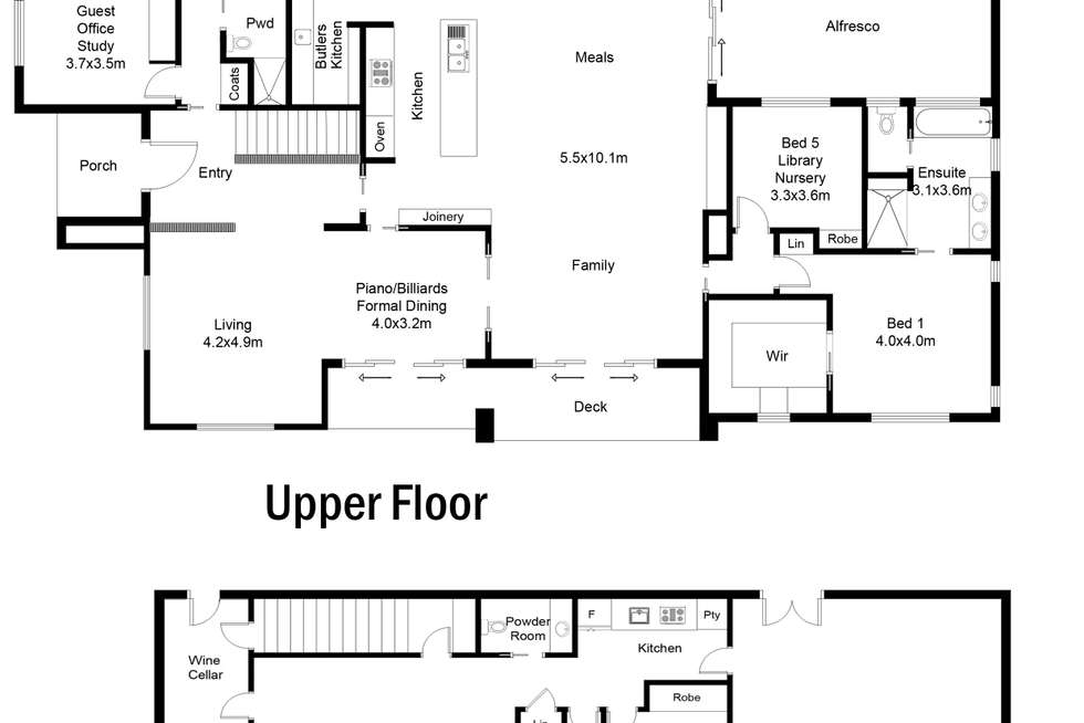 Floorplan of Homely house listing, 2 Elwick Place, Lyons ACT 2606