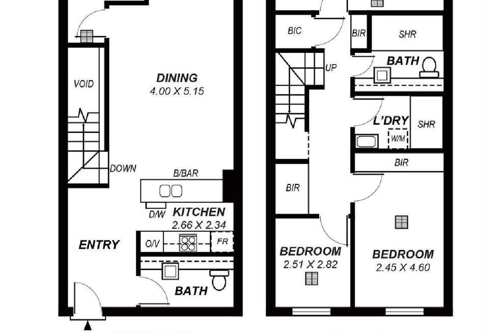 Floorplan of Homely apartment listing, 211/211 Grenfell Street, Adelaide SA 5000