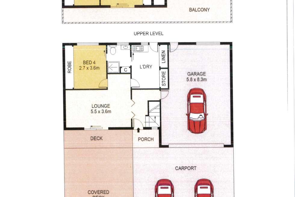 Floorplan of Homely house listing, 112 Dandaraga Road, Brightwaters NSW 2264