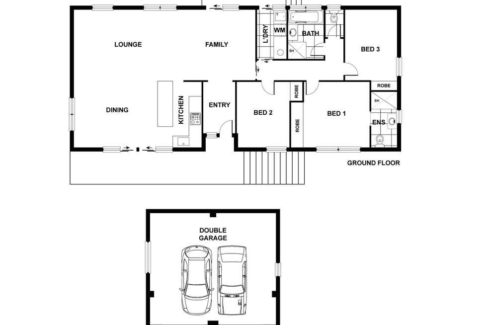 Floorplan of Homely house listing, 200 Tillyard Drive, Fraser ACT 2615