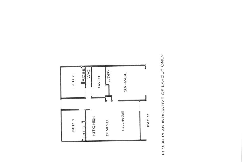 Floorplan of Homely retirement listing, 46/3 Snedden Street, Bethania QLD 4205