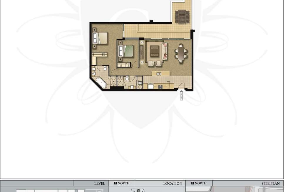 Floorplan of Homely apartment listing, 404/2 Bovell Lane, Claremont WA 6010