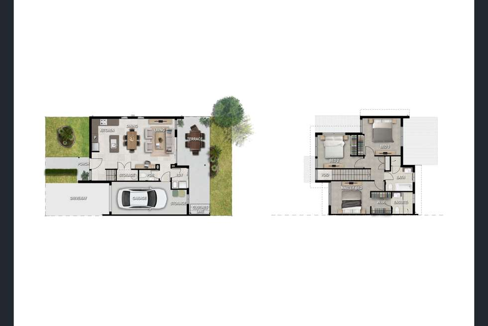Floorplan of Homely townhouse listing, 70 Willow Road, Redbank Plains QLD 4301