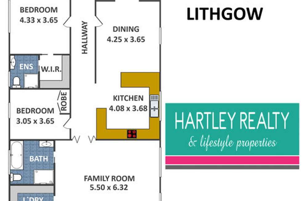 Floorplan of Homely house listing, 991 Great Western Highway, South Bowenfels NSW 2790