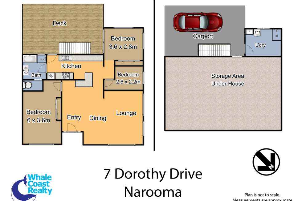 Floorplan of Homely house listing, 7 Dorothy Drive, Narooma NSW 2546