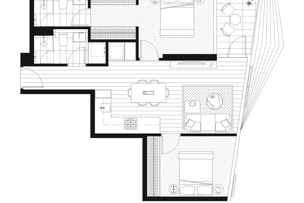 Floorplan of Homely apartment listing, 1810/152-160 Grote Street, Adelaide SA 5000