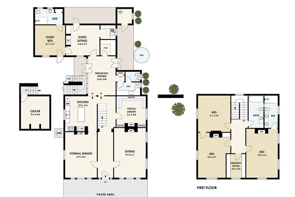 Floorplan of Homely house listing, 26 Market Street, Dunolly VIC 3472