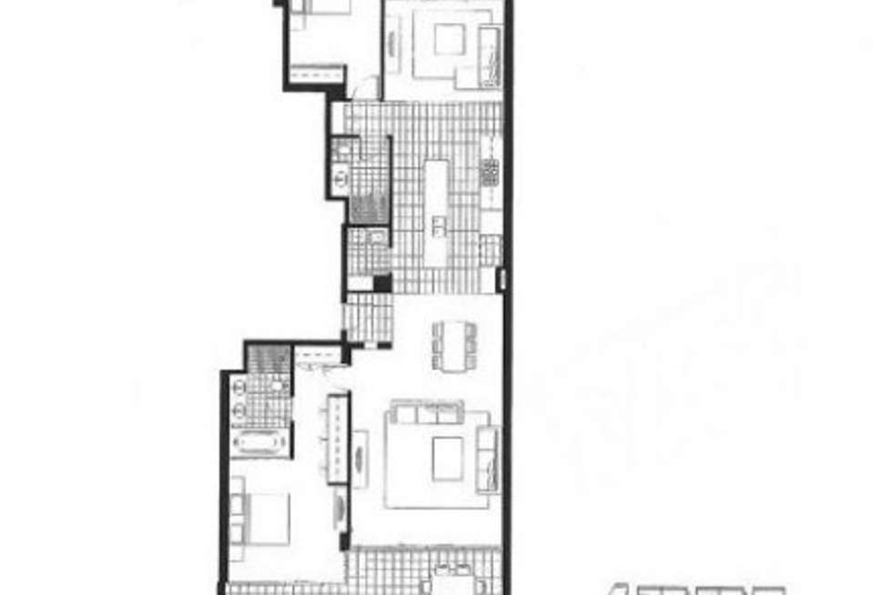 Floorplan of Homely apartment listing, 12/39 Bow River Crescent, Burswood WA 6100