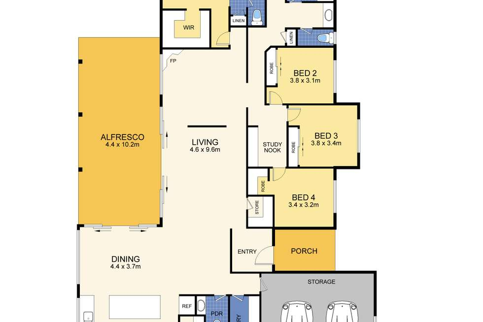 Floorplan of Homely house listing, 126 Palmview Forest Drive, Palmview QLD 4553