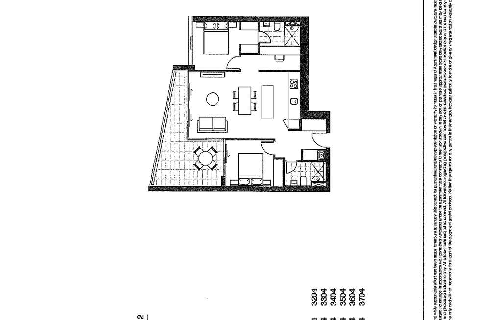 Floorplan of Homely apartment listing, 2604/88 Church Street, Parramatta NSW 2150