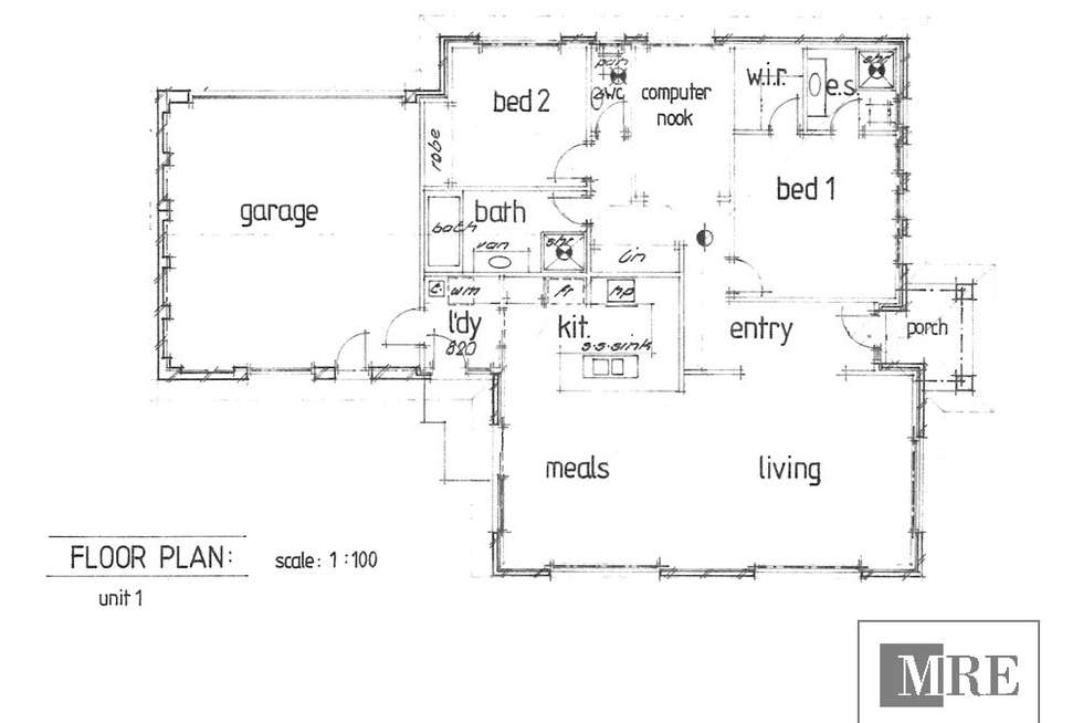 Floorplan of Homely townhouse listing, 1/18 Kidston Parade, Mansfield VIC 3722