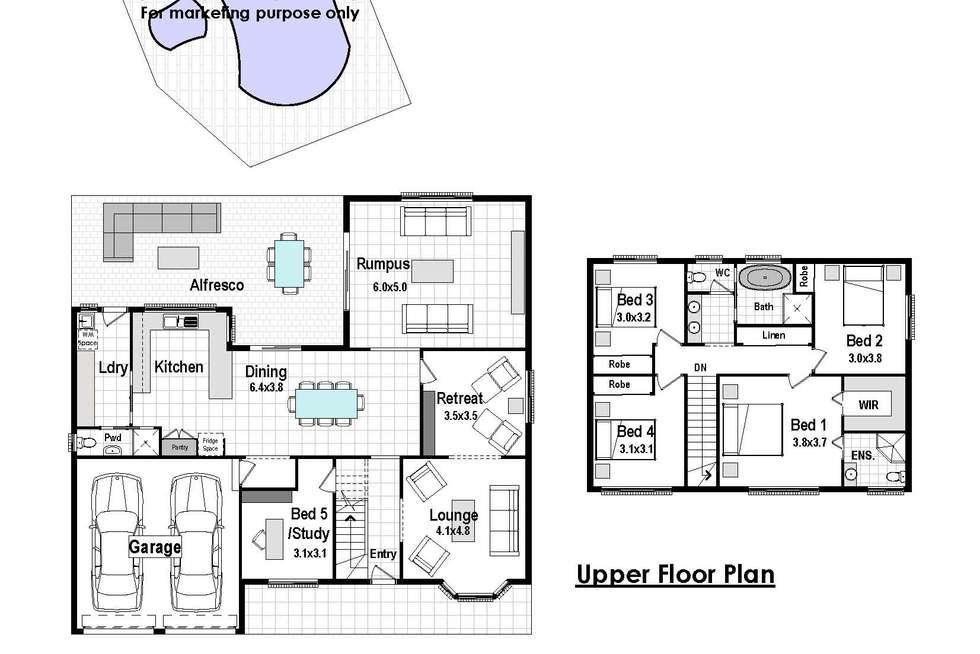 Floorplan of Homely house listing, 10 Carmel Close, Baulkham Hills NSW 2153