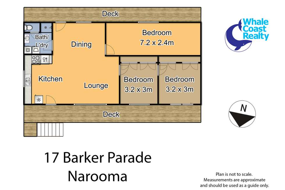 Floorplan of Homely house listing, 17 Barker Parade, Narooma NSW 2546