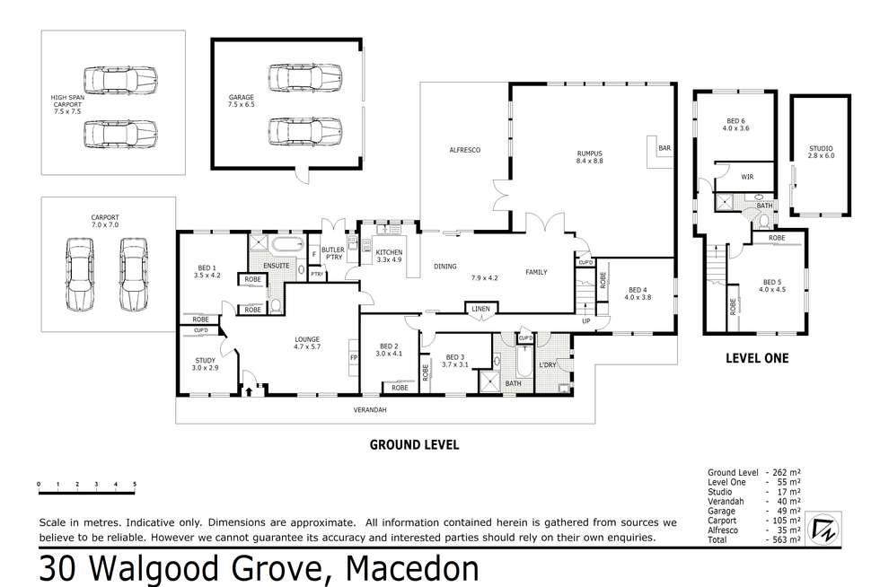 Floorplan of Homely acreageSemiRural listing, 30 Walgood Grove, Macedon VIC 3440