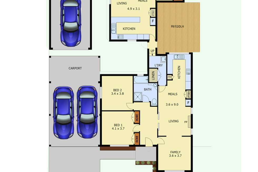 Floorplan of Homely house listing, 82 Elgin Street, Morwell VIC 3840