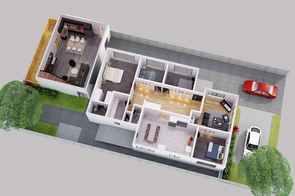 Floorplan of Homely house listing, 46 Anstey Avenue, Reservoir VIC 3073