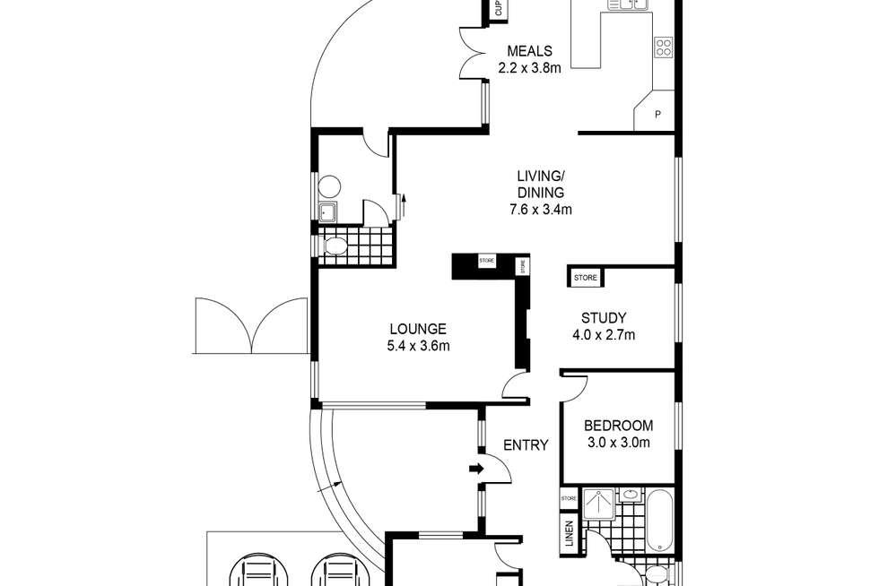 Floorplan of Homely house listing, 36 Malcolm Street, Bacchus Marsh VIC 3340