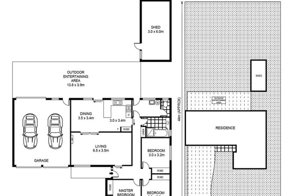 Floorplan of Homely house listing, 31 Clifton Drive, Bacchus Marsh VIC 3340